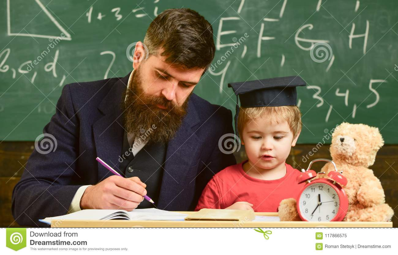 Teacher and pupil