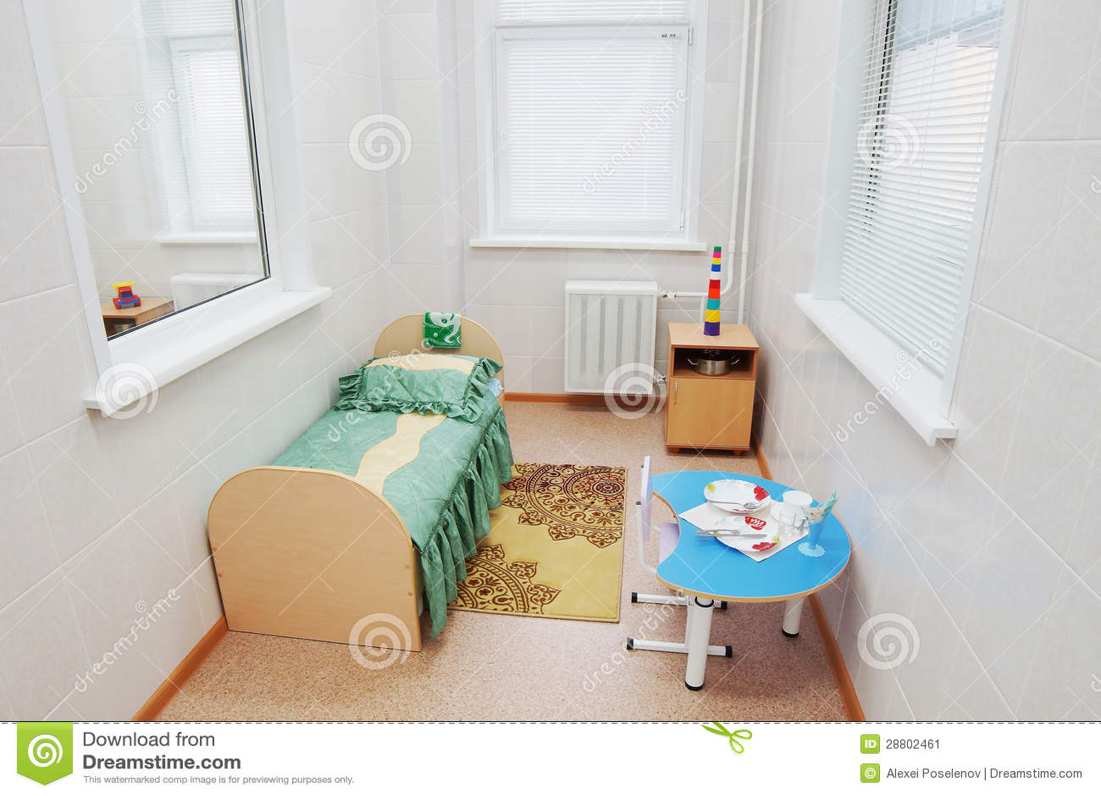 Individual Ward In A Pediatric Hospital
