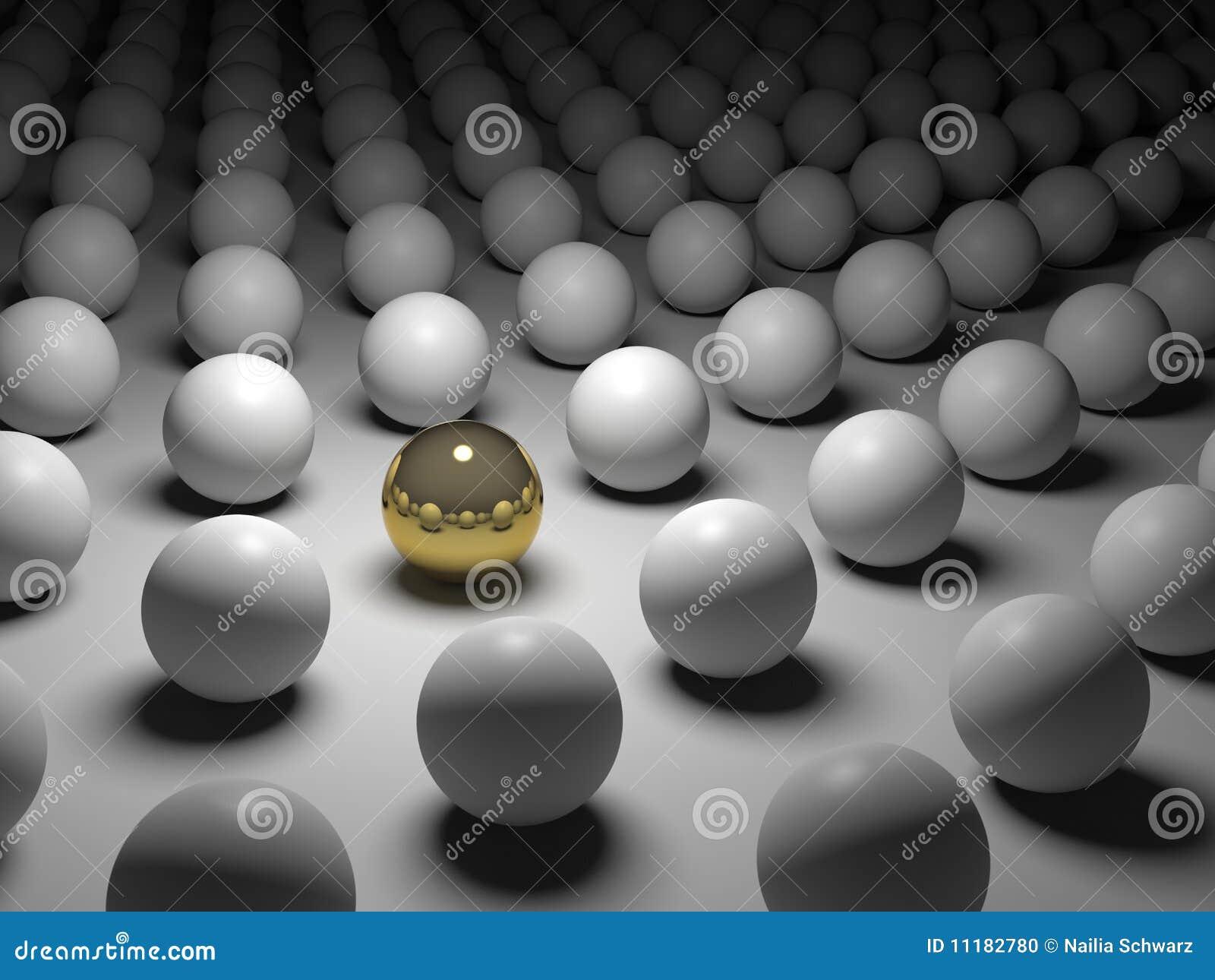 Individualismunikhet för begrepp 3d