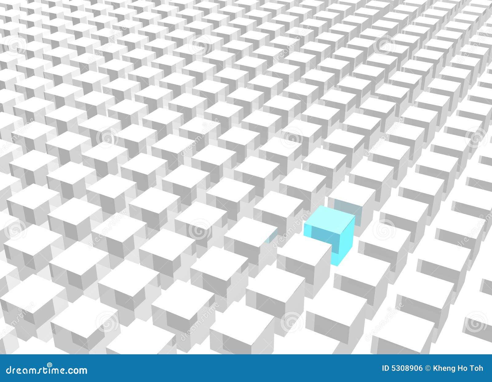 Download Individualità Che Si Leva In Piedi Fuori Dalla Folla Illustrazione di Stock - Illustrazione di idee, disegno: 5308906