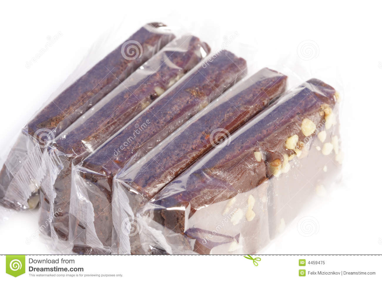 Individually Wrapped Brownies