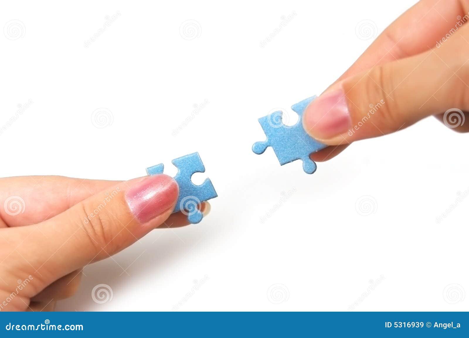 Download Individuazione Della Soluzione Giusta Immagine Stock - Immagine di jigsaw, fine: 5316939