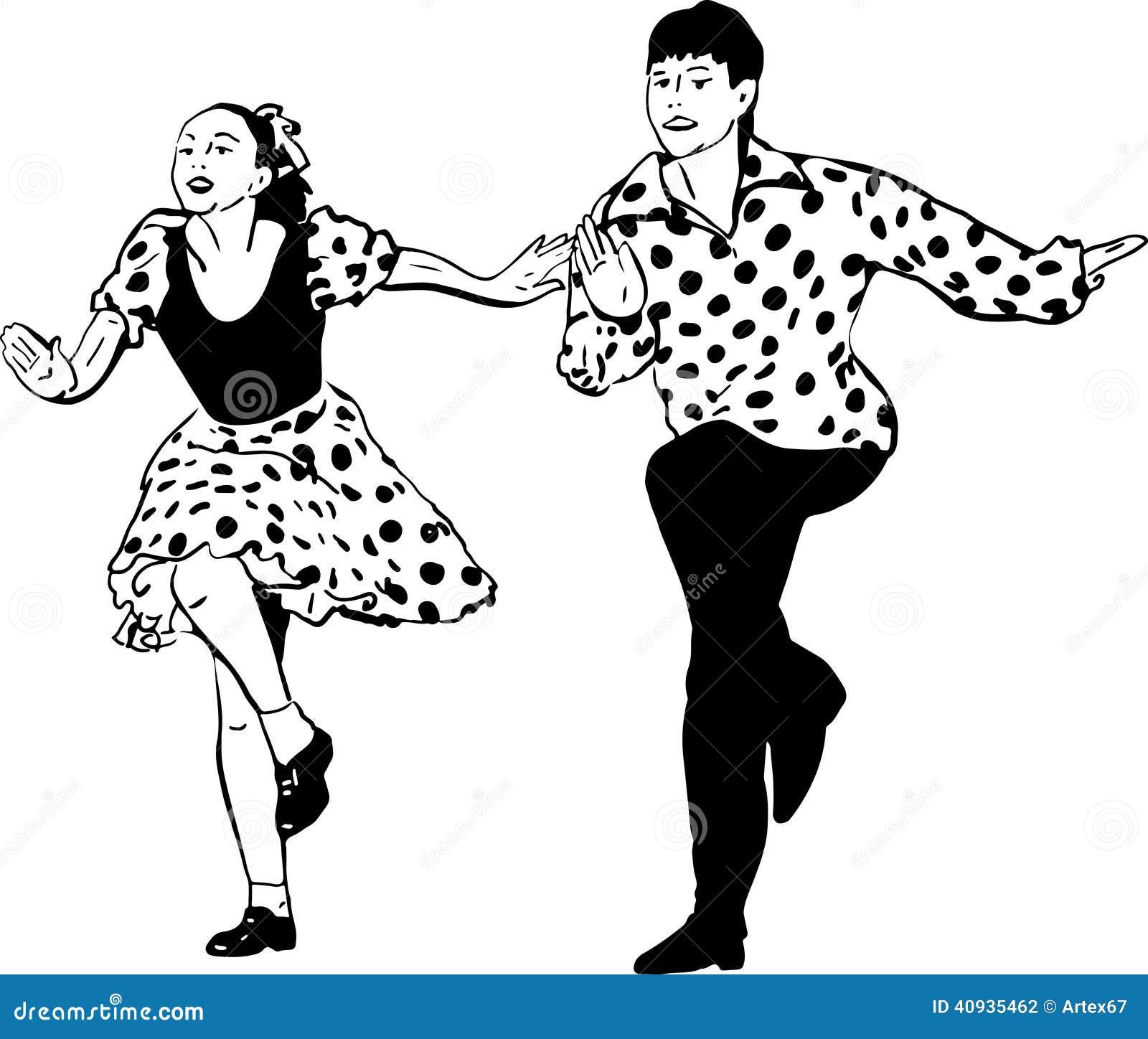 La muchacha da el baile de la muchacha