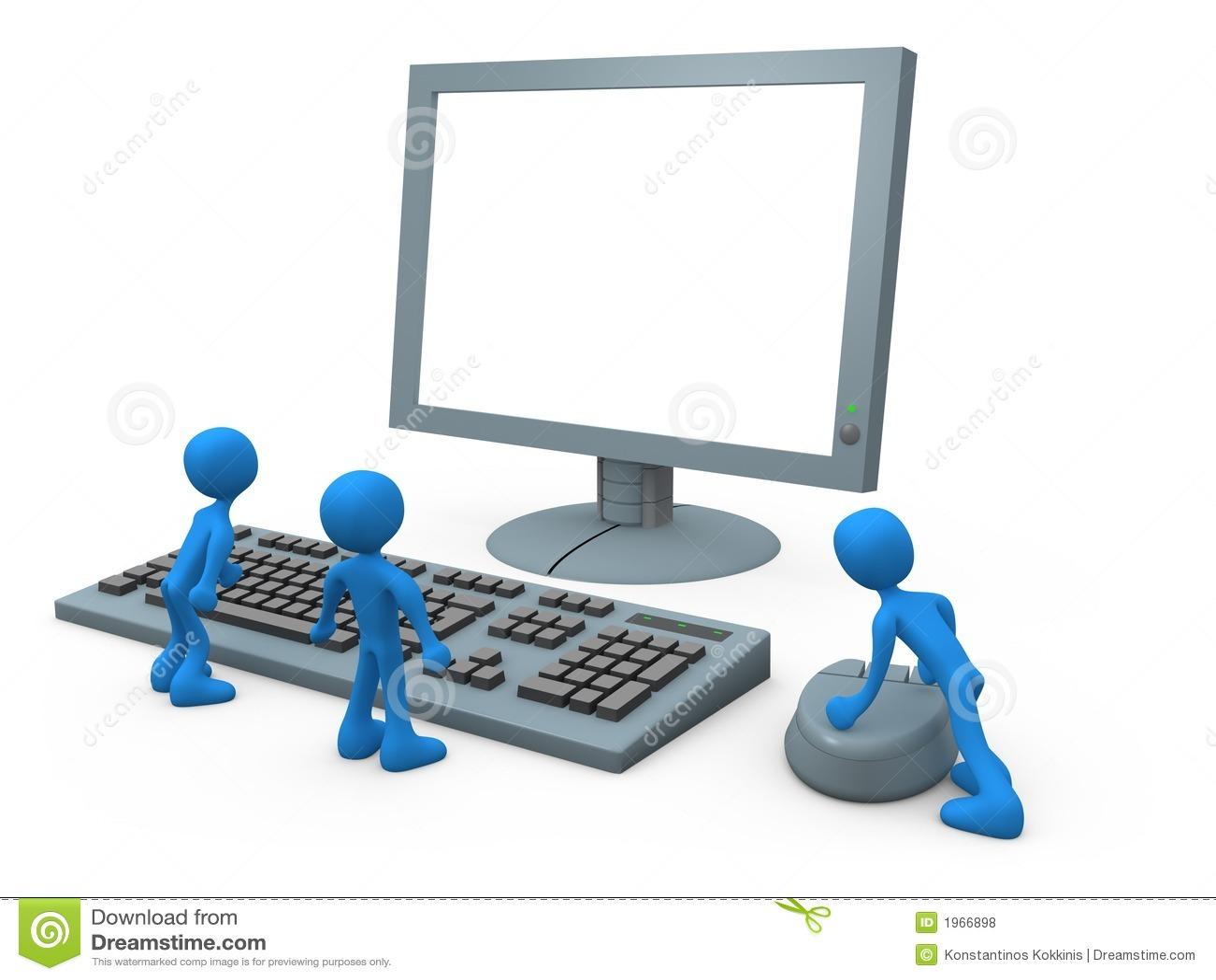 Individuos del ordenador