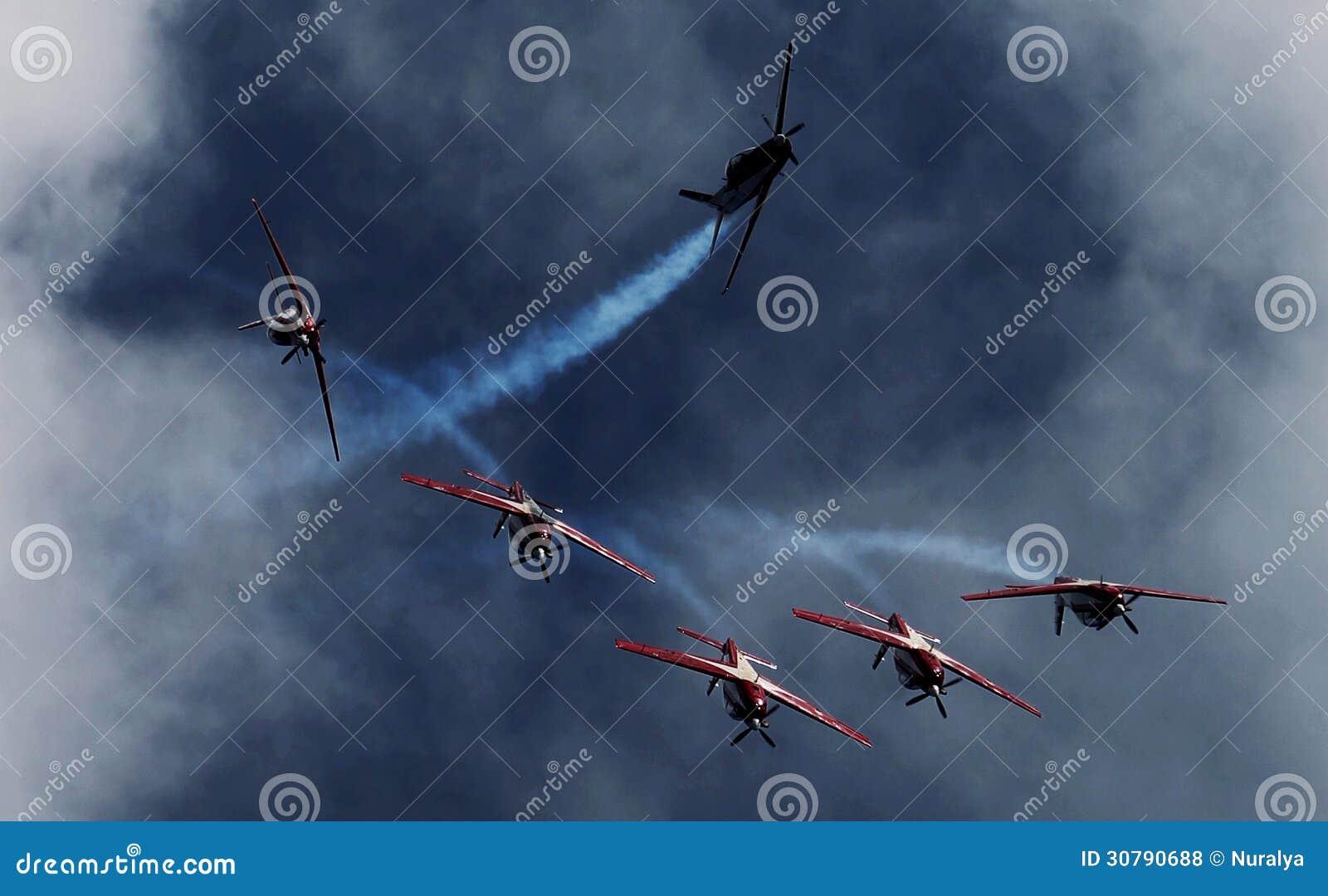 Indonesië Aerobatic Team Jupiter