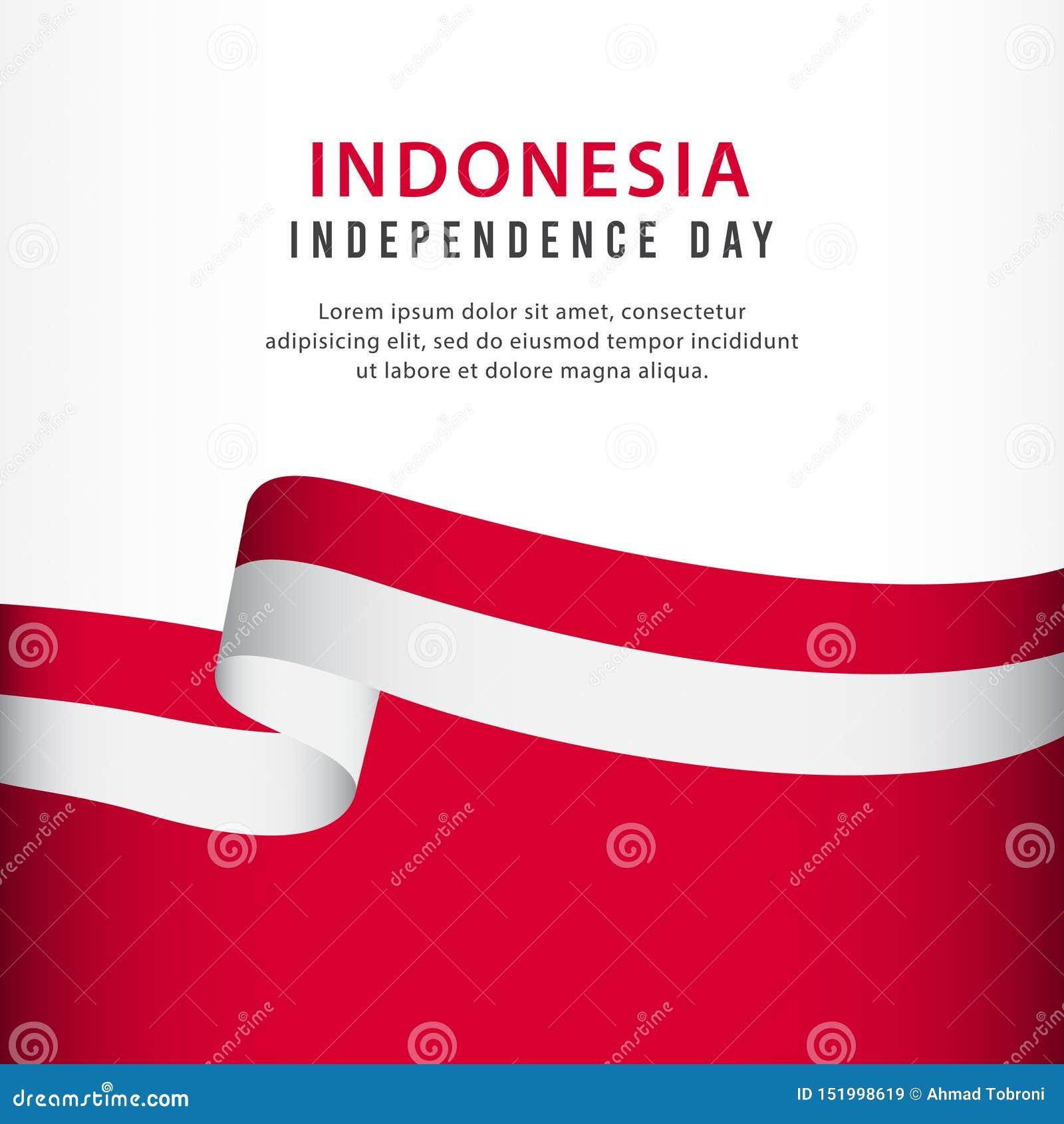 independence day celebration banner set design vector