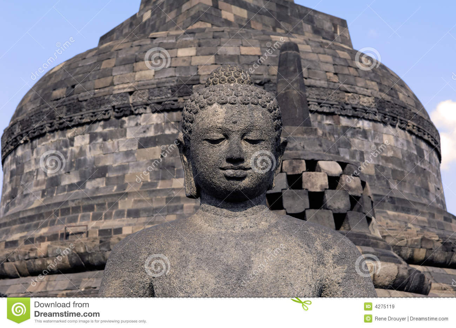 Indonesia, Java, Borobudur: Templo