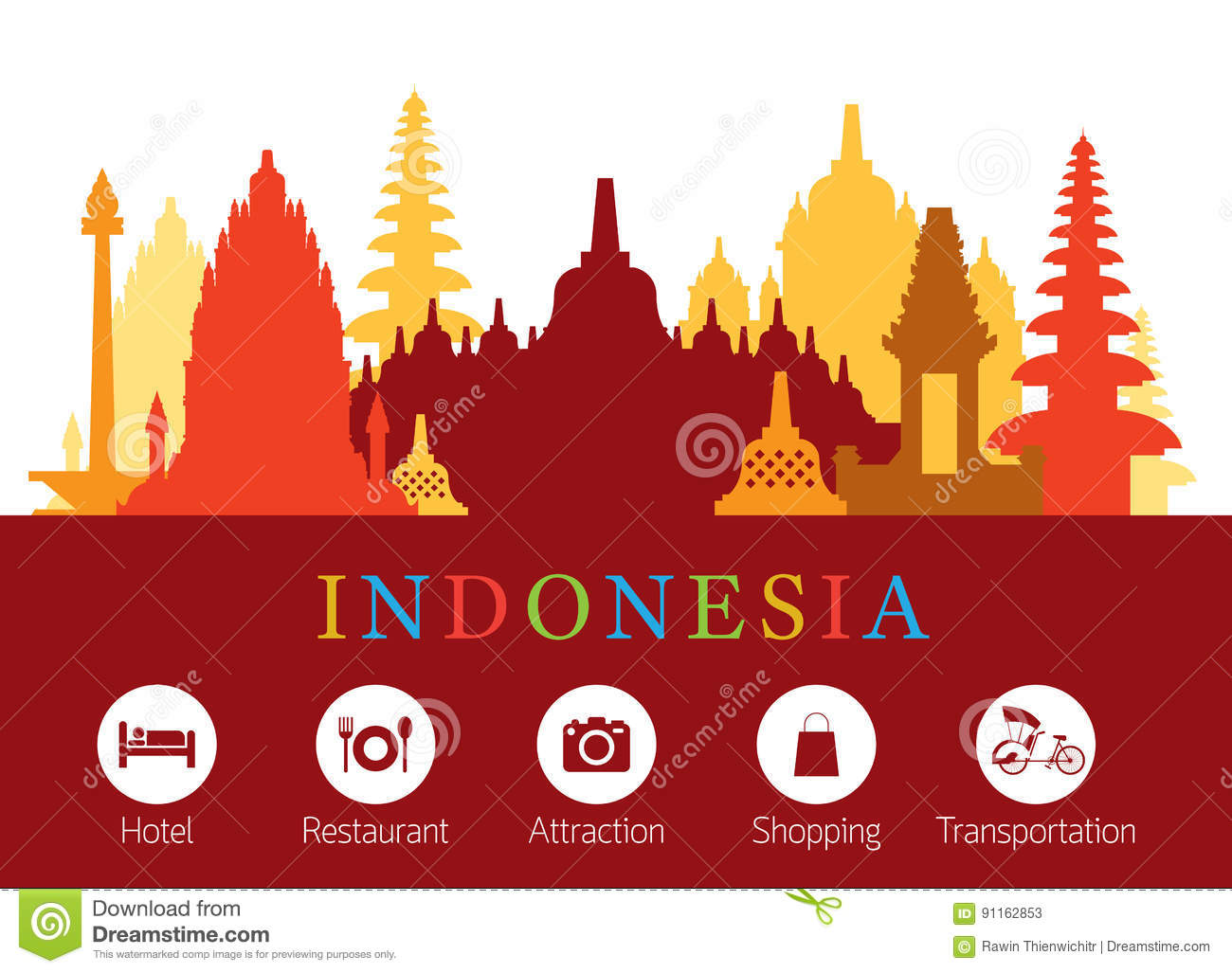 Prambanan Cartoons, Illustrations  Vector Stock Images  37 Pictures to download from