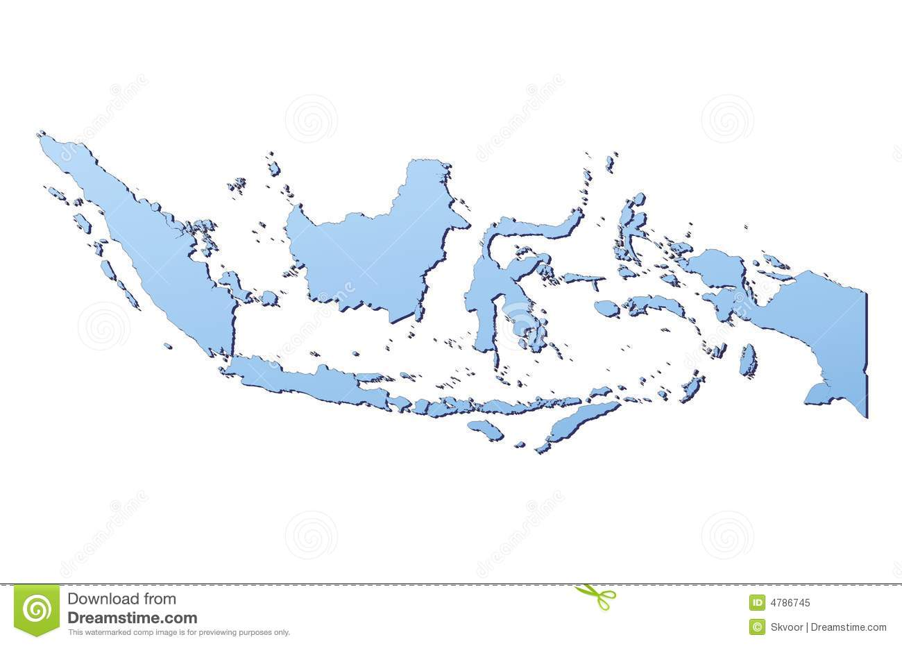 free download indonesia map