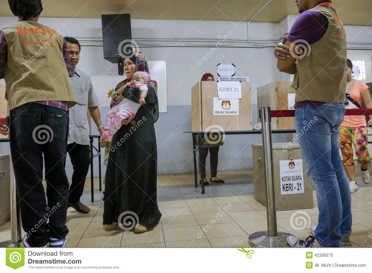 Presidential election in indonesia is more