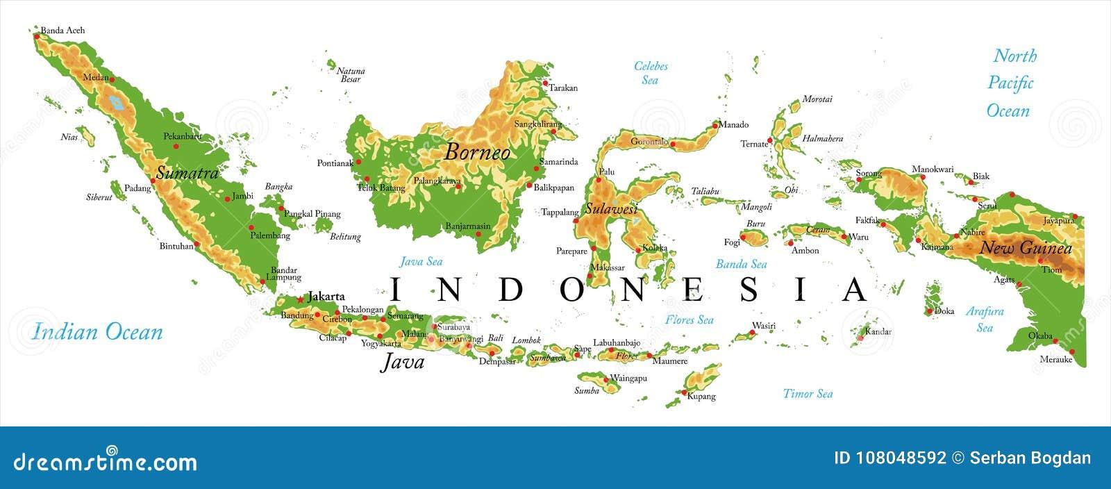 Cartina Bali Indonesia.Indonesia Map Relief Stock Illustrations 428 Indonesia Map Relief Stock Illustrations Vectors Clipart Dreamstime