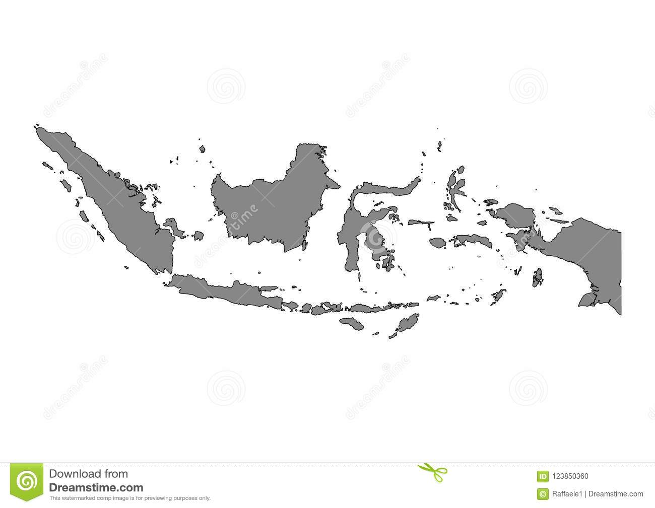 Indonesia state map vector silhouette stock vector illustration of download indonesia state map vector silhouette stock vector illustration of black world 123850360 publicscrutiny Choice Image