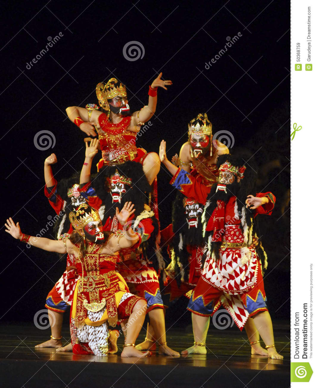 INDONESIA WAYANG WONG PERFORMANCE THEATRICAL DANCE CULTURE Editorial Stock Image  Image of