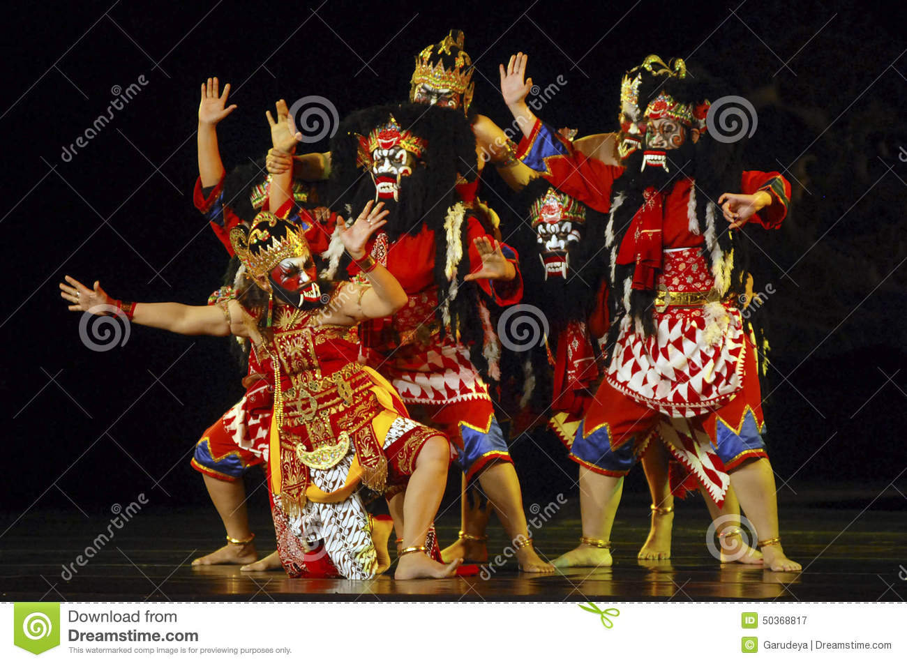 INDONESIA WAYANG WONG PERFORMANCE THEATRICAL DANCE CULTURE Editorial Photography  Image of