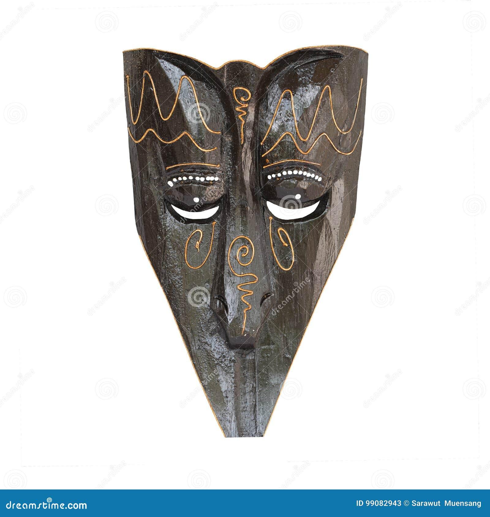 Indonesian Bali wooden mask