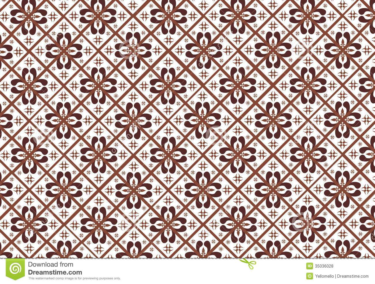 Retro Batik Design Indonesia Culture Wallpaper | Wallpapers Gallery