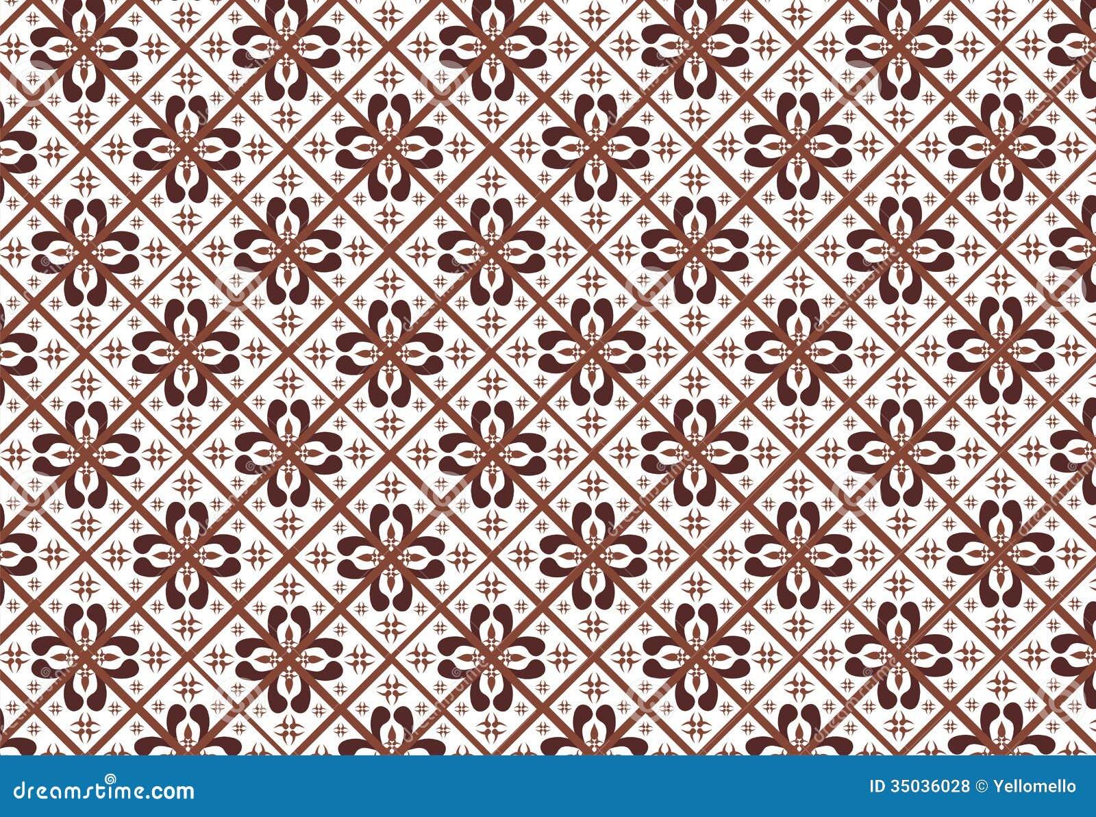 Indonesian Batik Pattern Royalty Free Stock Photos - Image: 35036028