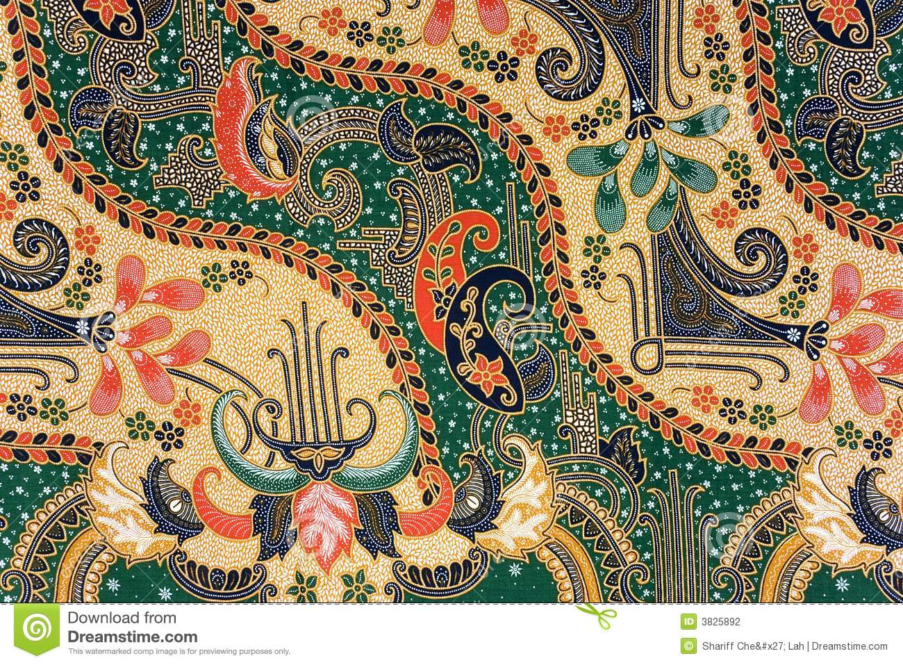 Stock Photography: Indonesian Batik Sarong