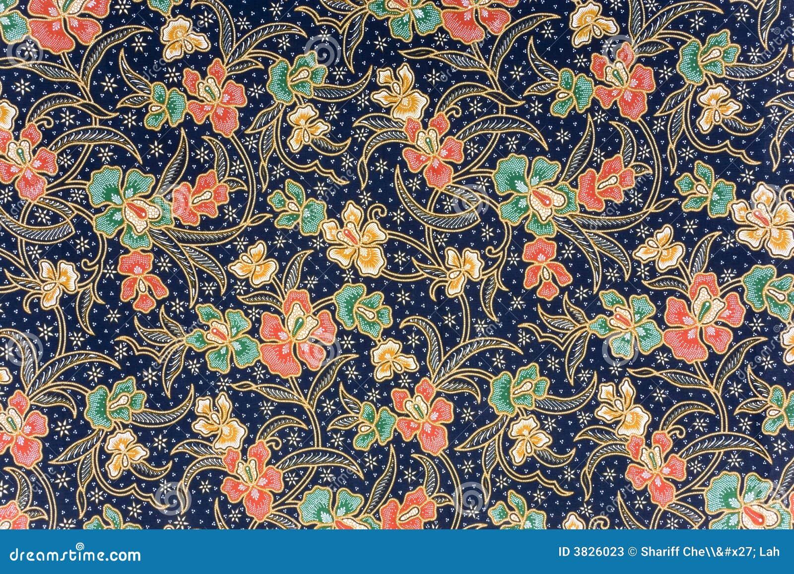 Indonesian Batik Sarong Stock Photos - Image: 3826023