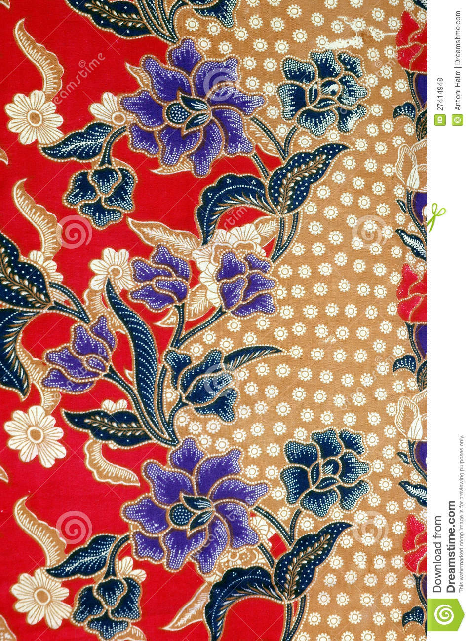 indonesian fabric design royalty free stock photos