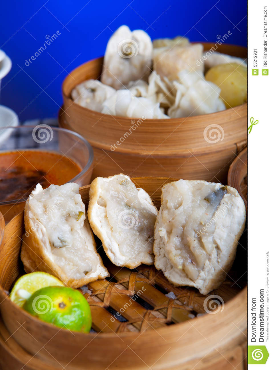 Indonesian Food Fried Baso Tahu Bandung Stock Photo ...