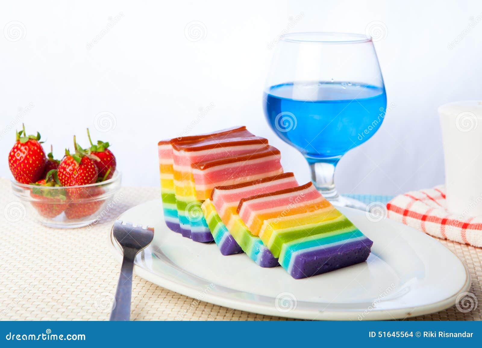 Good Morning Vietnam Z Rainbow : Indonesian food rainbow layer lapis stock photo
