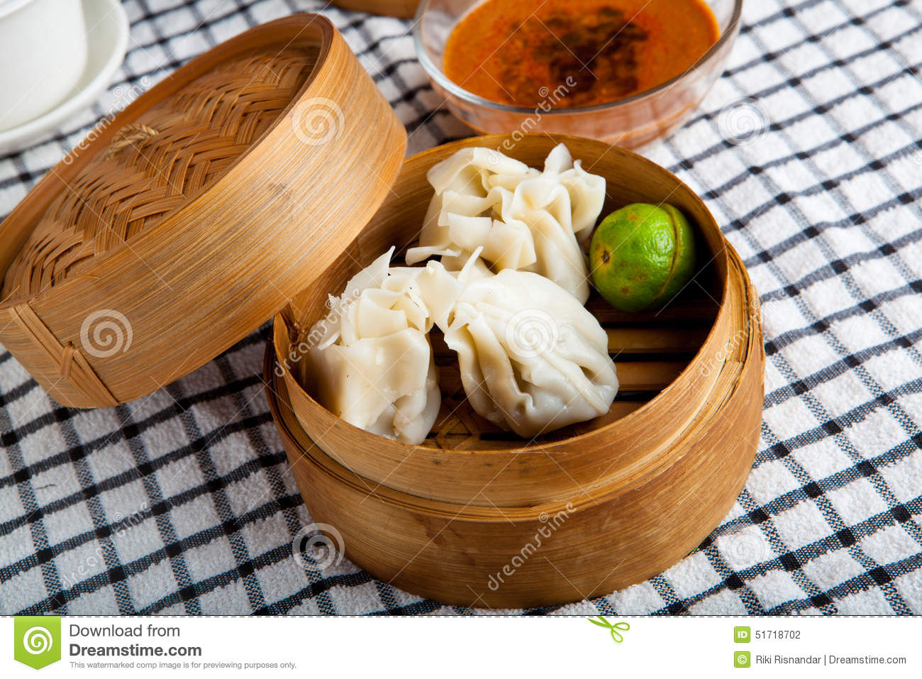 Indonesian Food Siomay Bandung Stock Photo - Image: 51718702