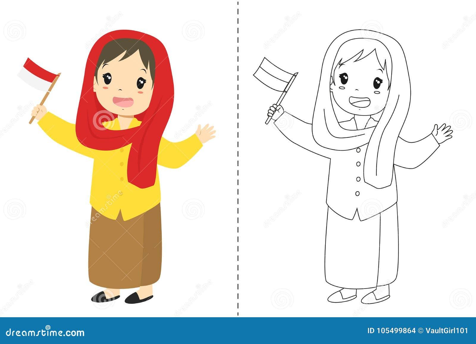 Download Indonesian Girl Wearing Betawi
