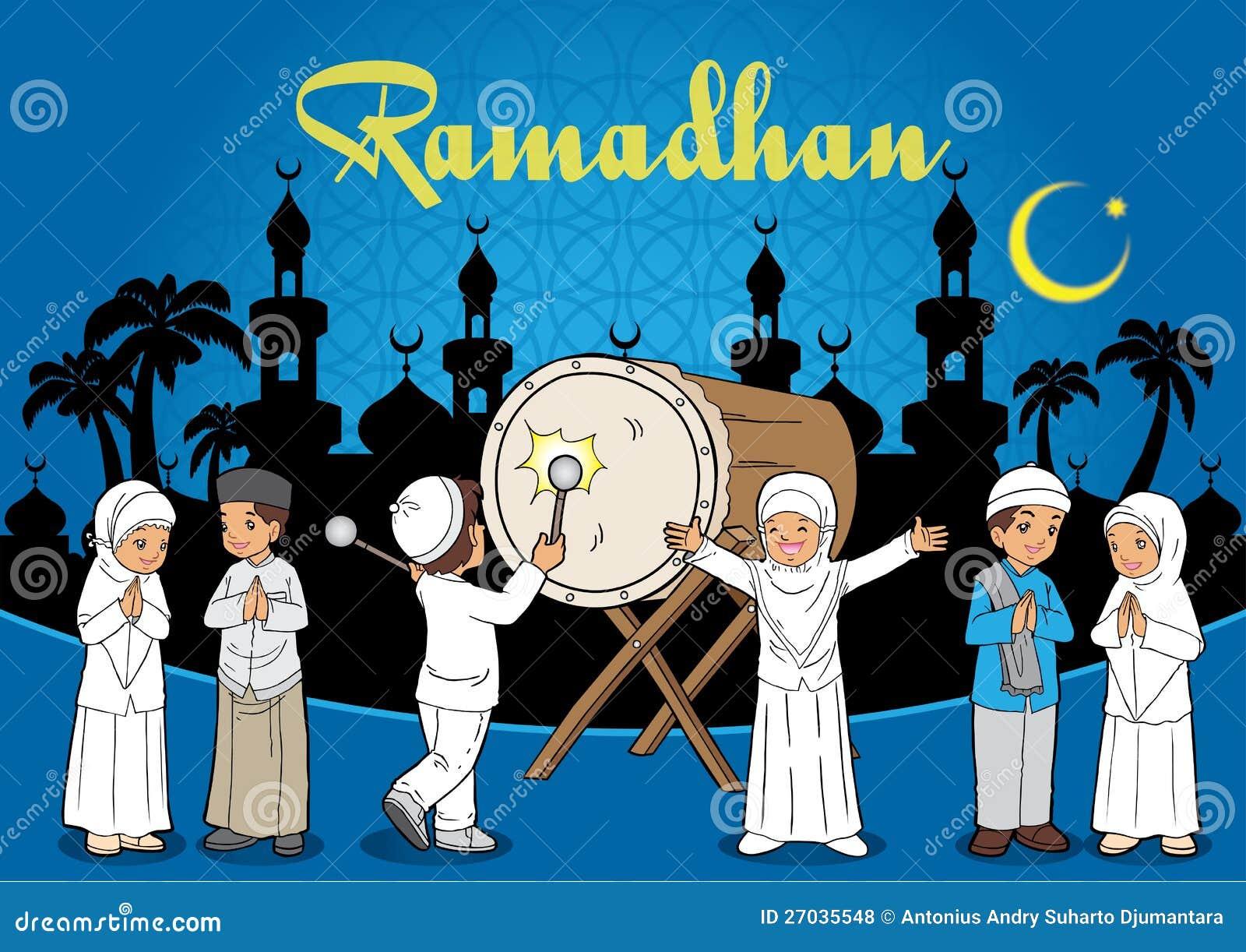 Indonesian Kids Muslim