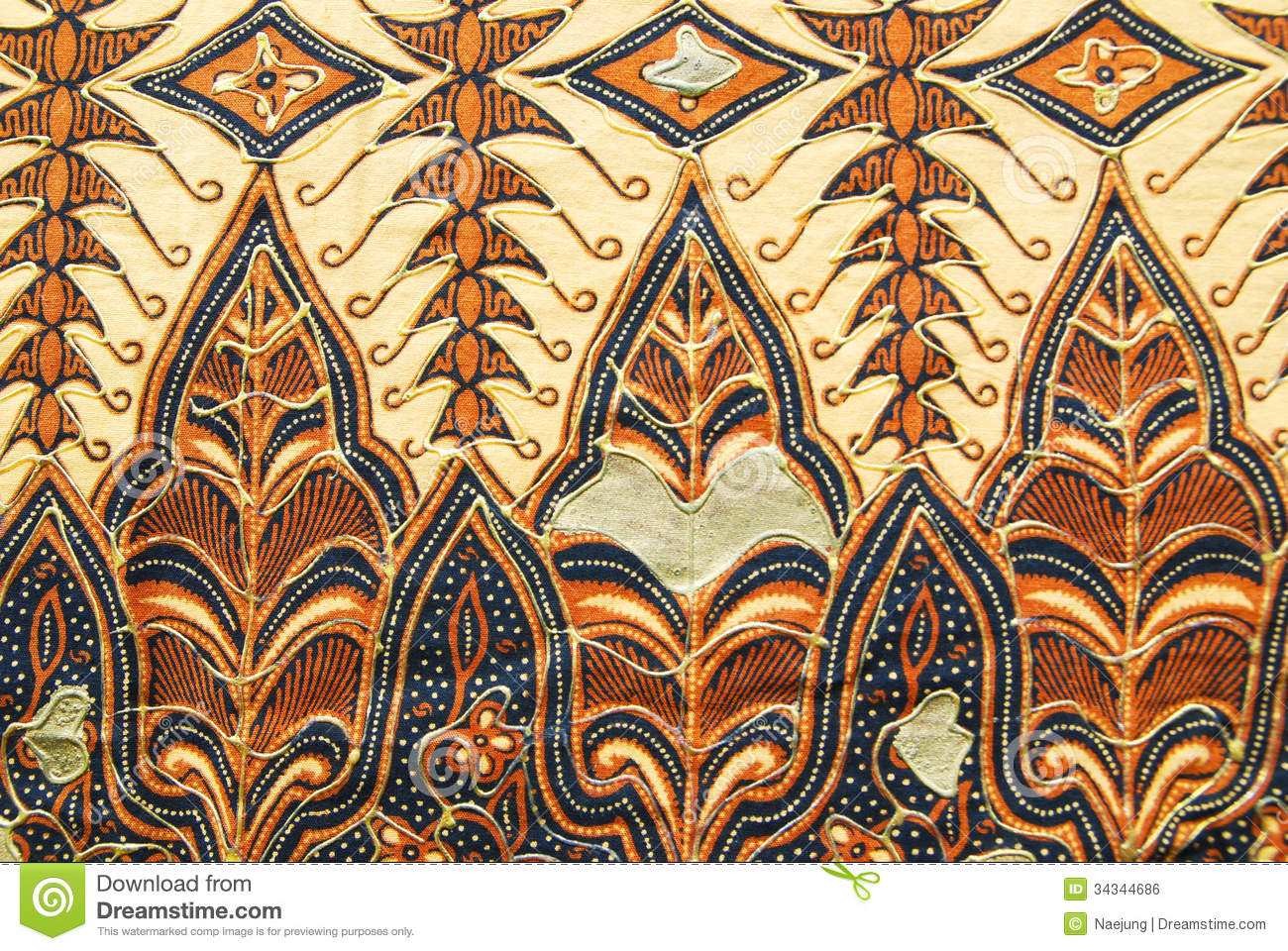 Indonesian Sarong Texture Royalty Free Stock Image  Image: 34344686