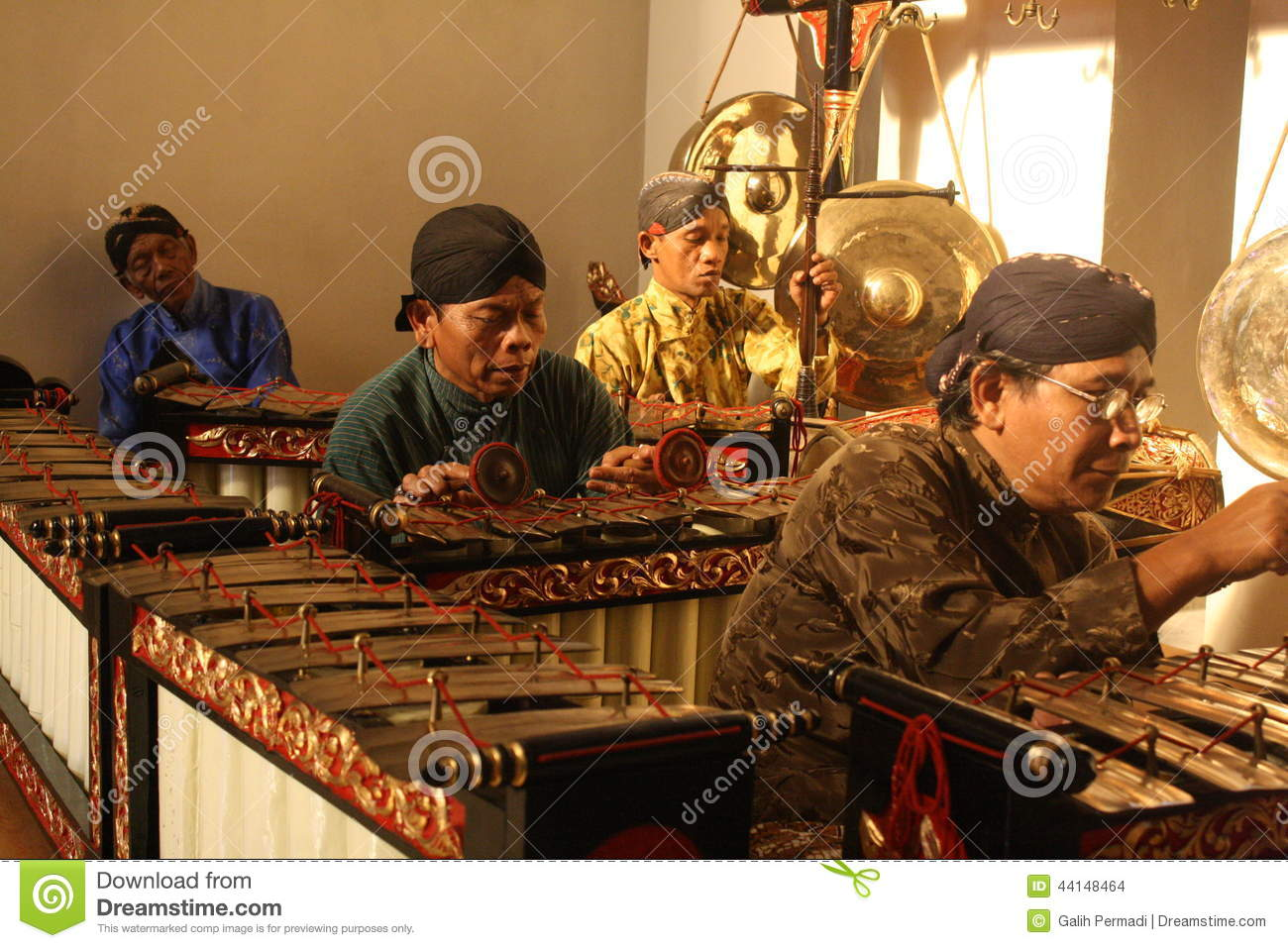 Indonesian Traditional Musical Instrument Editorial Stock ...