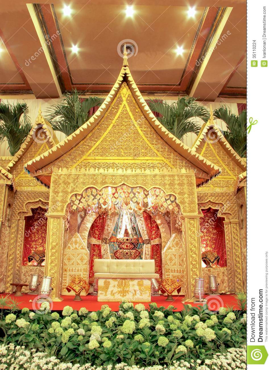Indonesian traditional wedding decoration stock images for Decoration images