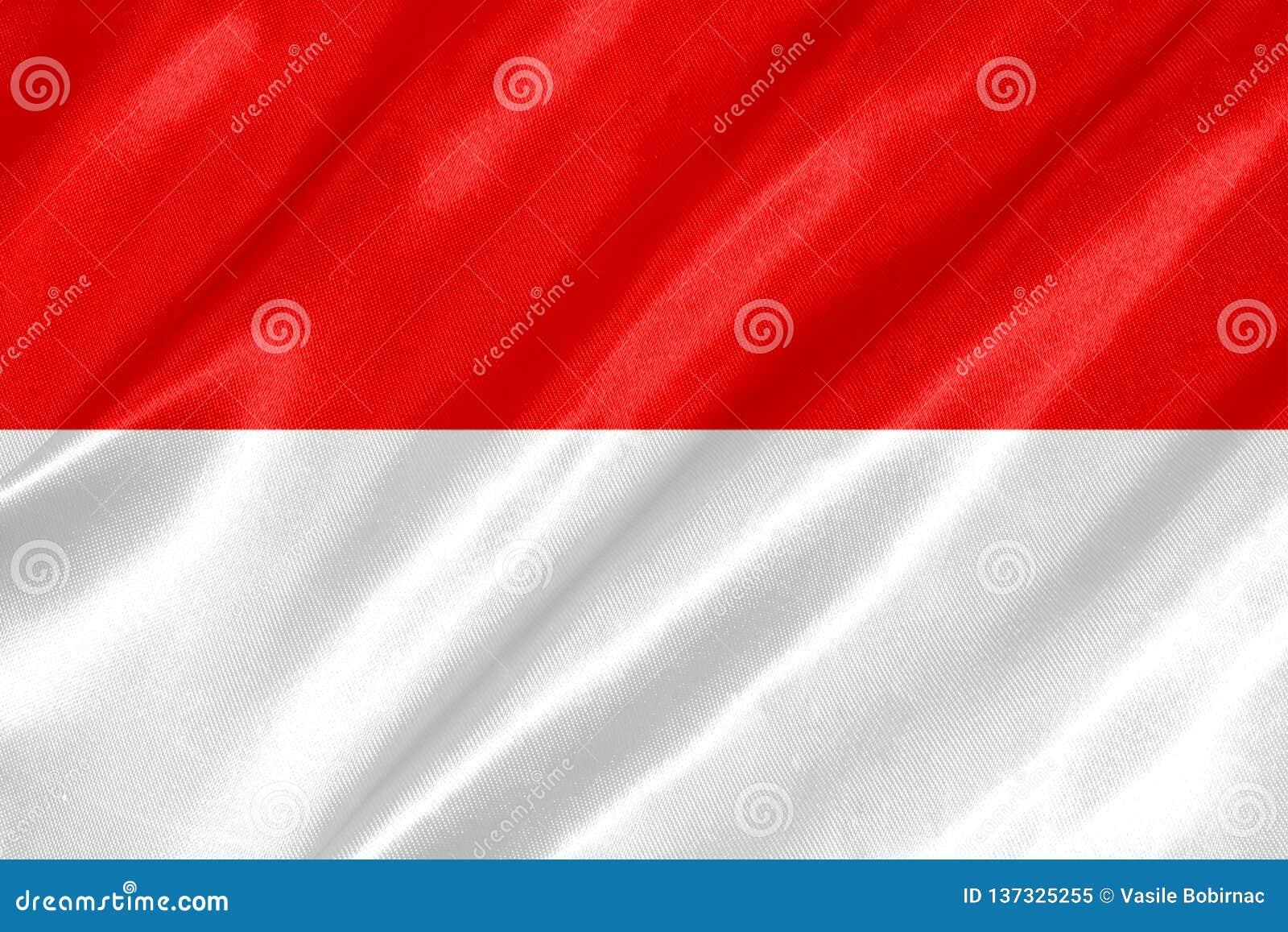 Indonesien-Flagge