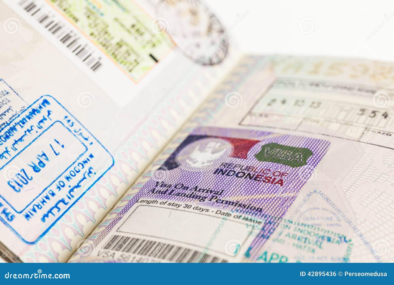 Indonesien-Visum