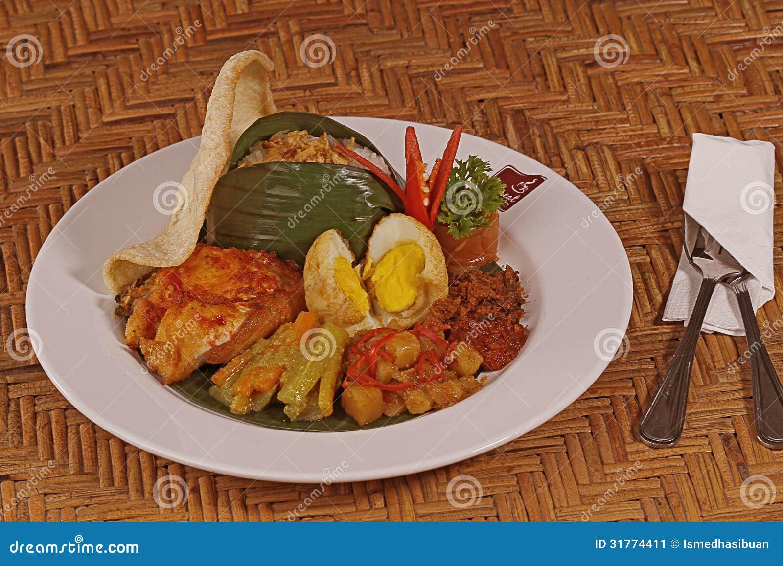 indonesische küche stockbild - bild: 31774411