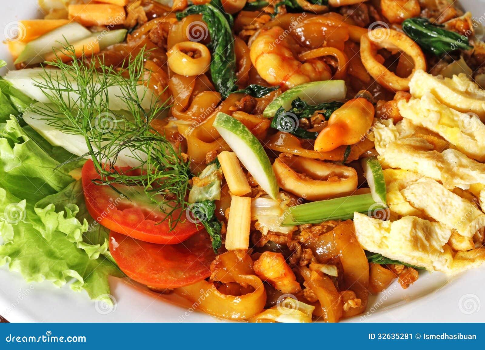 indonesische küche stockbild - bild: 32635281