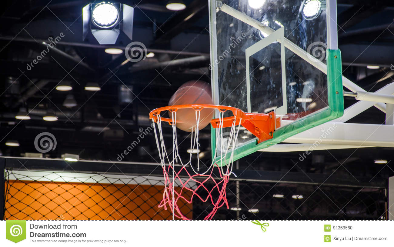 Indoor basketball court stock photos royalty free images for Free inside basketball courts