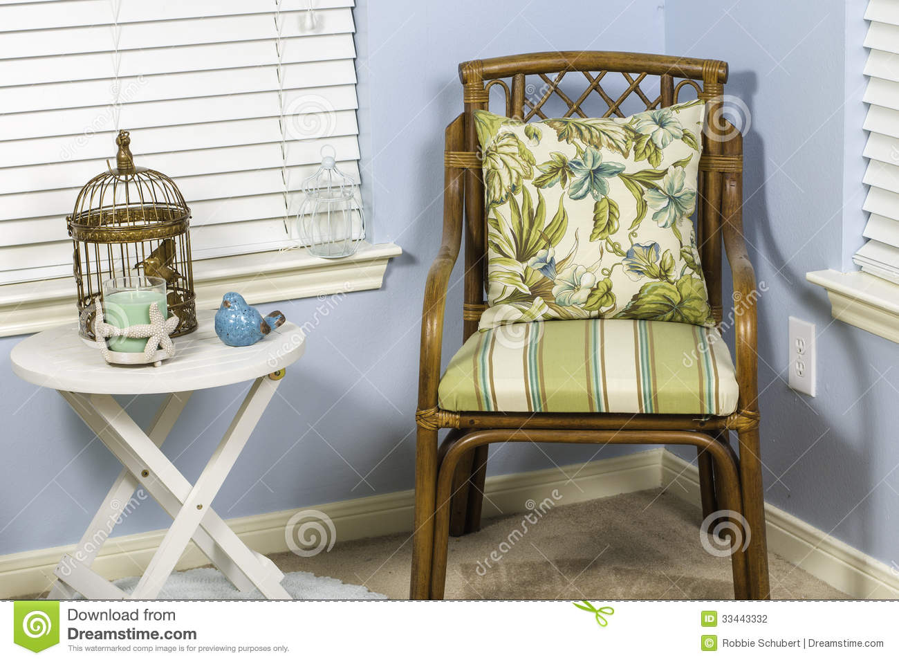 Indoor Beach Chair Stock Photography - Image: 33443332