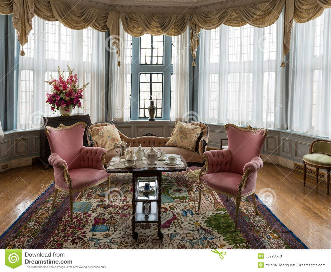 Indoor Decorations At Casa Loma In Toronto Editorial Stock Photo Image 38723673