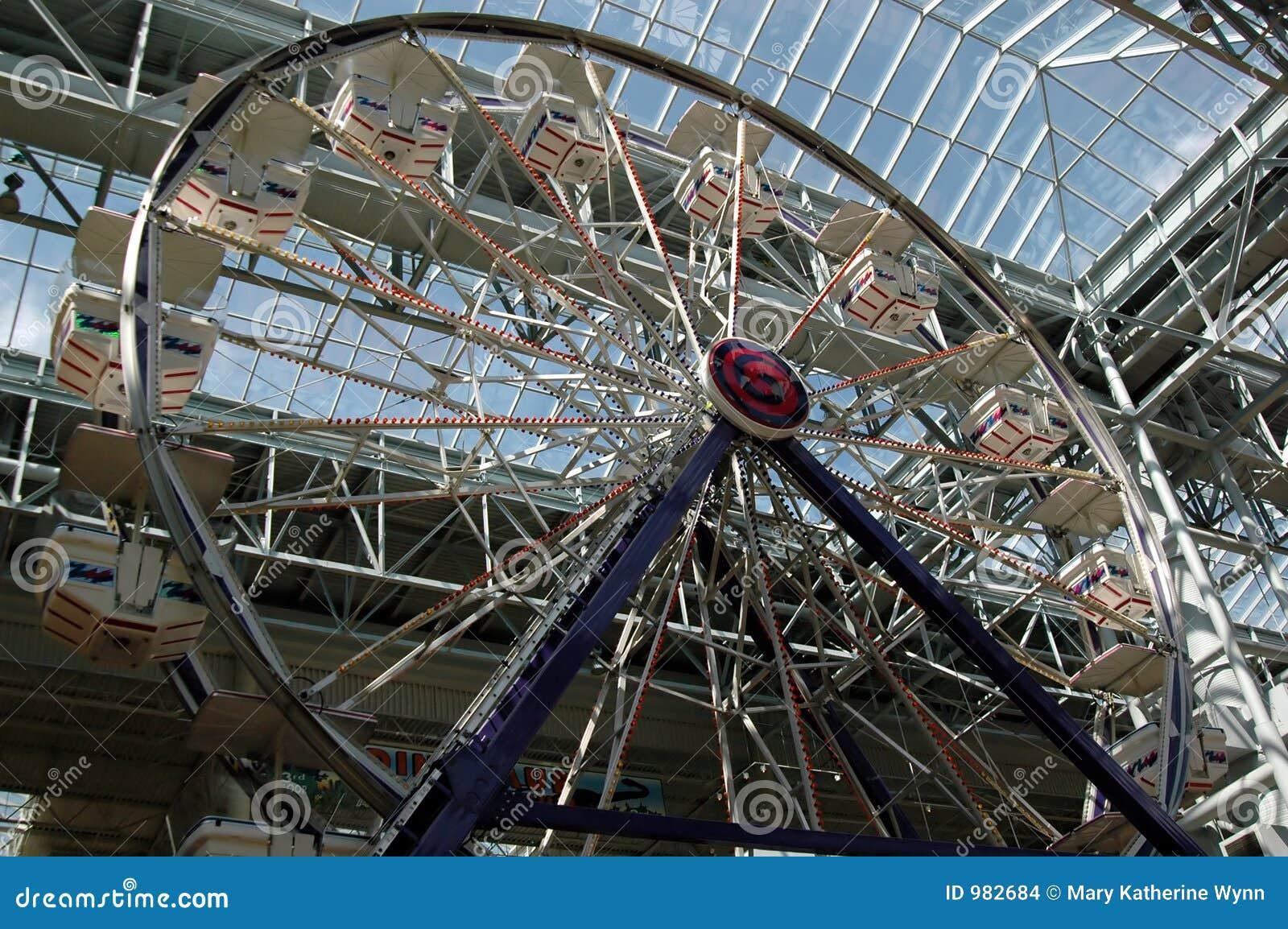 Indoor Ferris wheel