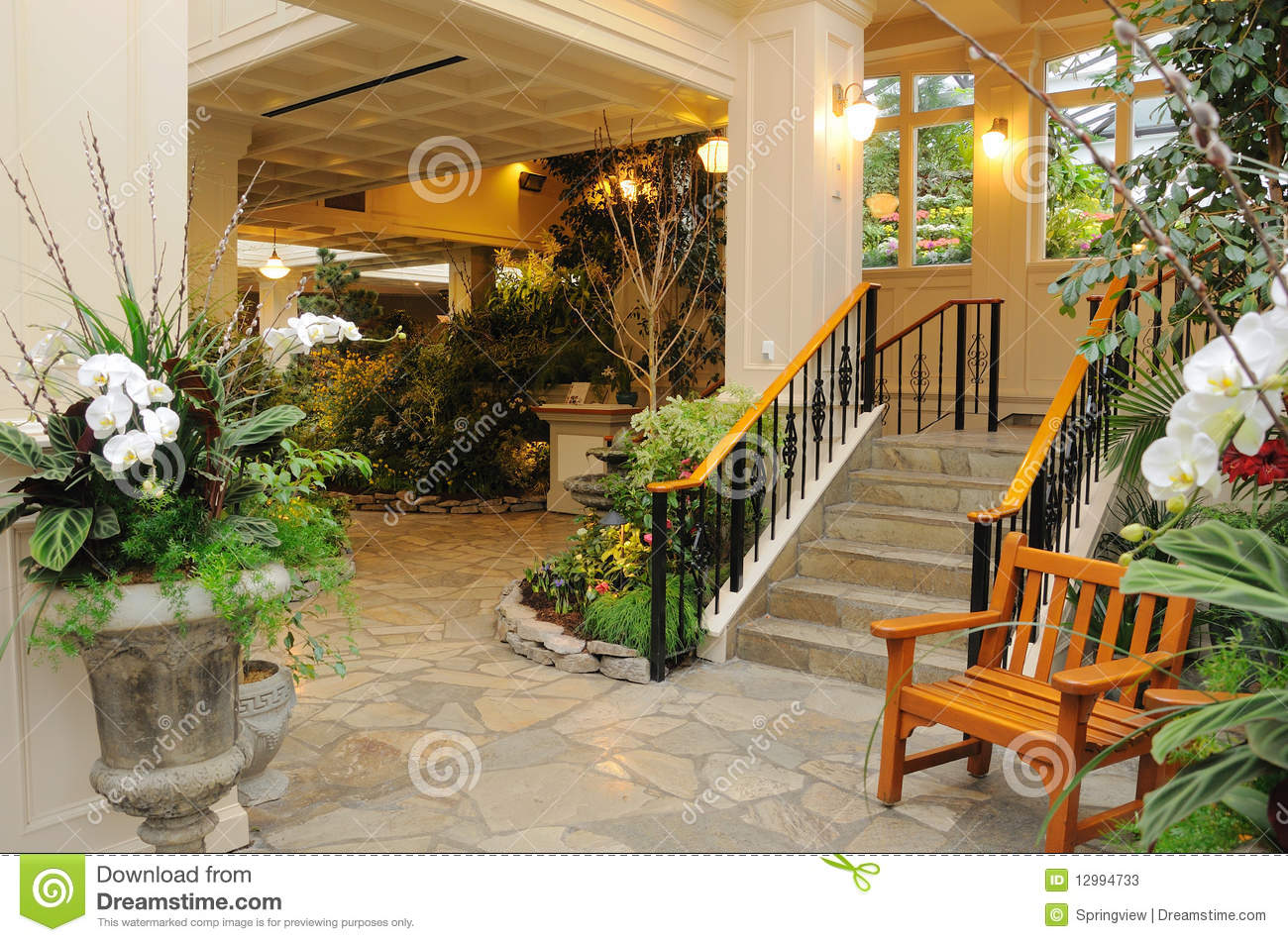Indoor Garden Stock Photos Image 12994733