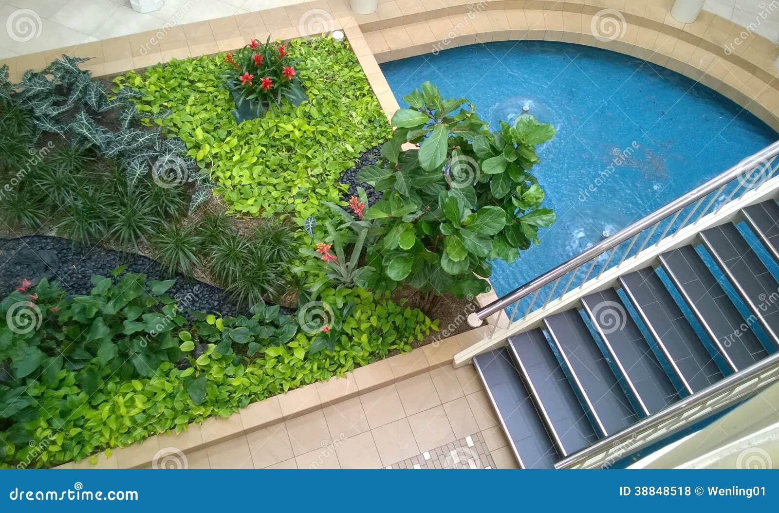 Indoor Garden Design Stock Photo Image Of Plant Garden
