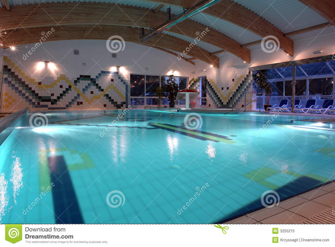 Indoor Lap Pool Stock Image Image Of Luxurious Indoor