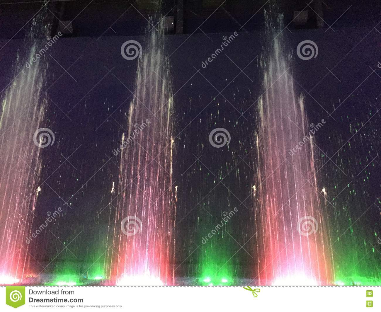 Indoor Musical Fountain New Haven Connecticut Stock Image Image
