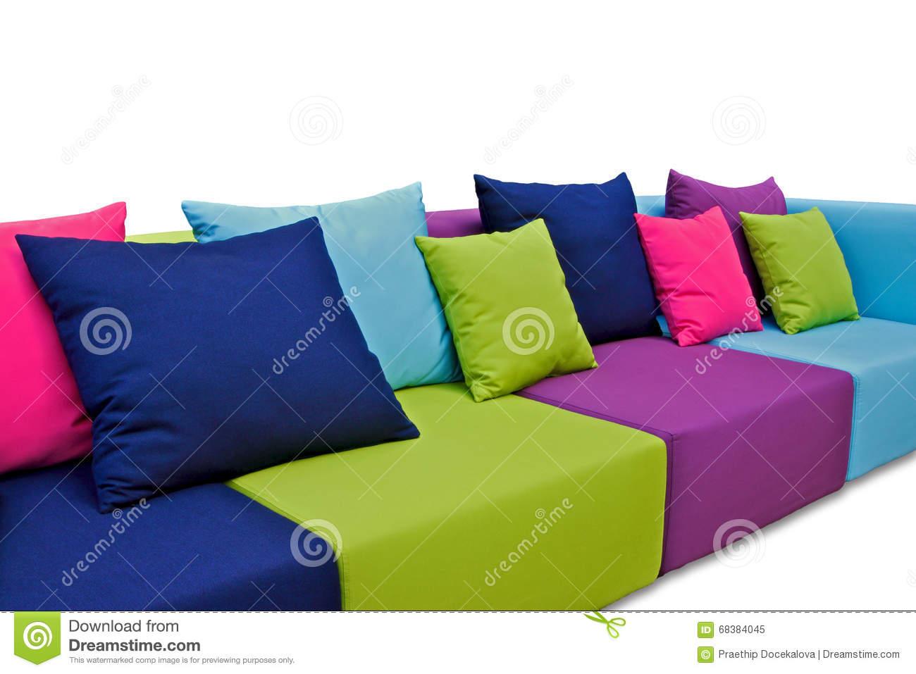 Indoor Outdoor Sofa Stock Photo - Image: 68384045