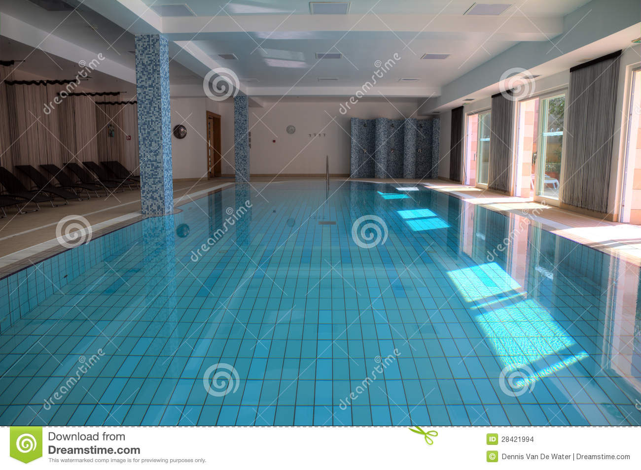 Indoor Pool Stock Images Image 28421994