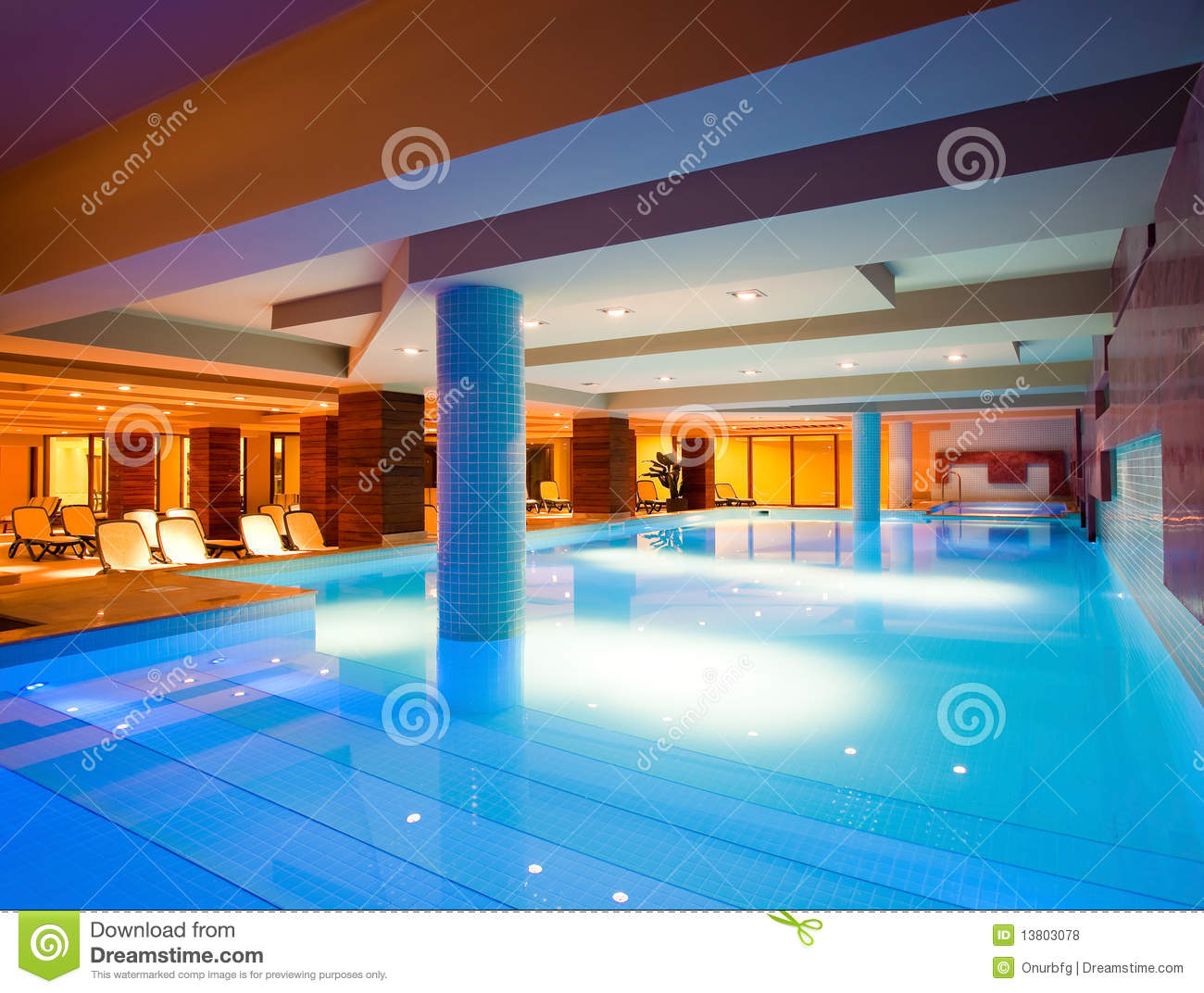 indoor swimming pool royalty free stock photos image 13803078