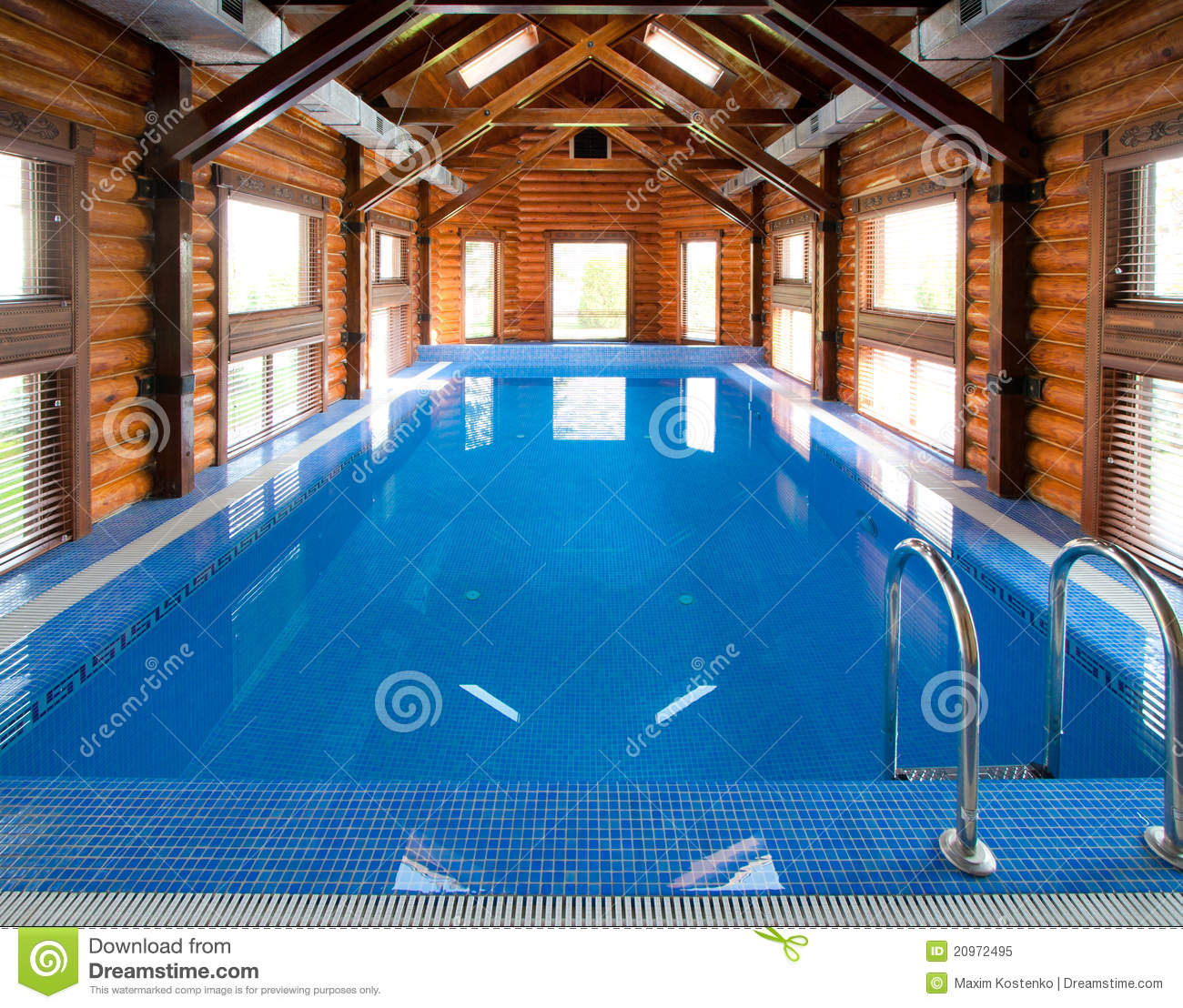 Indoor Swimming Pool Royalty Free Stock Photo Image 20972495
