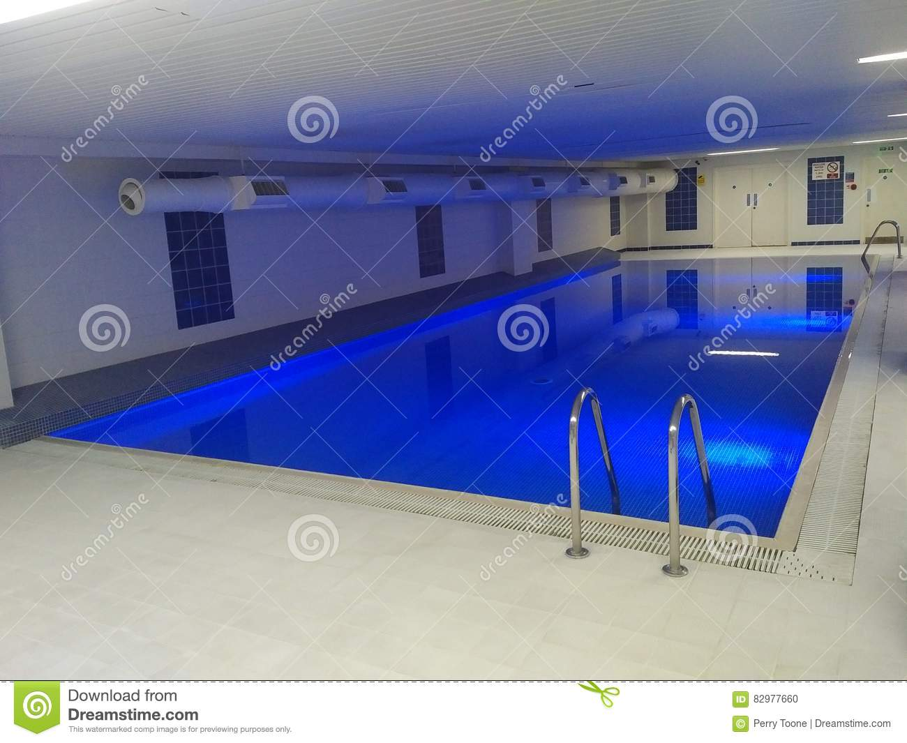 indoor swimming pool lighting. Indoor Swimming Pool Stock Photo. Image Of Lighting, Underground - 82977660 Lighting R