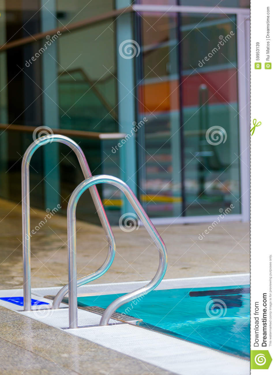 Indoor swimming pool stock image. Image of inside, exercise - 59953139